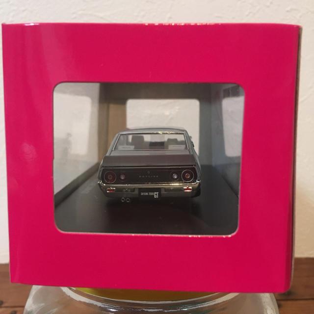 AOSHIMA(アオシマ)の新品 アオシマ DISM 1/43 ニッサン スカイライン KGC110シルバー エンタメ/ホビーのおもちゃ/ぬいぐるみ(ミニカー)の商品写真