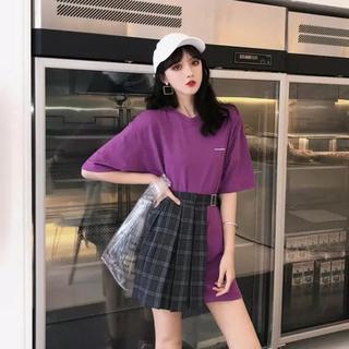 韓国ファッション Tシャツ スカート セット