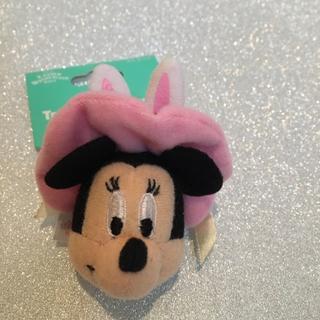 ディズニー(Disney)のディズニー・イースター 2011 ミニー ストラップ ぬいぐるみ?(チャーム)
