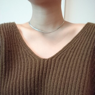 シンゾーン(Shinzone)のsilver chain necklace(ネックレス)
