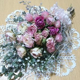 ☆薔薇のスワッグ NO.51☆(ドライフラワー)