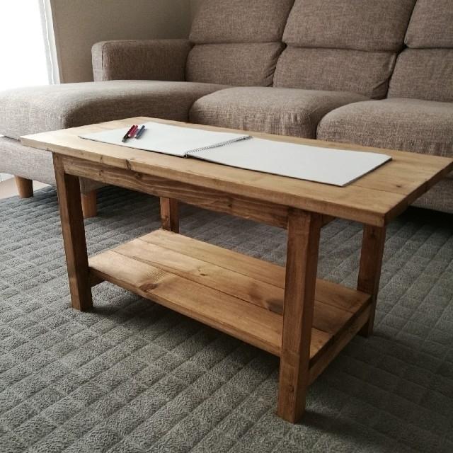 ハンドメイド センターテーブル ジャコビアン ハンドメイドのインテリア/家具(家具)の商品写真