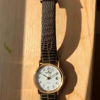 エドックス(EDOX)の美品 エドックス レディースクオーツ腕時計 送料込(腕時計)