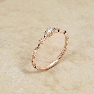 アガット(agete)のえりえる様18kアガットクラシックダイアモンドリング(リング(指輪))
