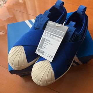 アディダス(adidas)のちえぴーさま専用です!!アディダス スリッポン 22㎝ 新品未使用(スリッポン/モカシン)