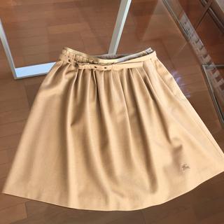 バーバリー(BURBERRY)のバーバリー ブルーレーベル(ひざ丈スカート)