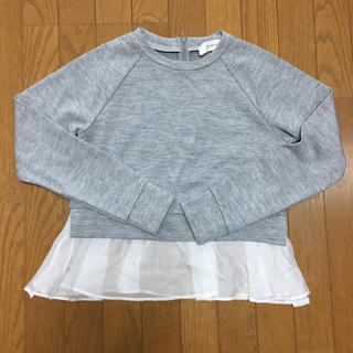 ルシェルブルー(LE CIEL BLEU)の※お値下げ※ LE CIEL BLEU ルシェルブルー トップスシャツトレーナー(Tシャツ(長袖/七分))