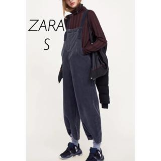 ザラ(ZARA)の【新品・未使用】ZARA ジャンプスーツ コーデュロイ S(サロペット/オーバーオール)