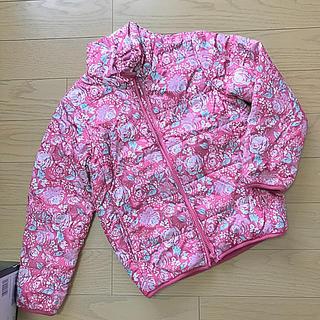 ジーユー(GU)のGU♡可愛い花柄♡ナイロンジャケット(ジャケット/上着)