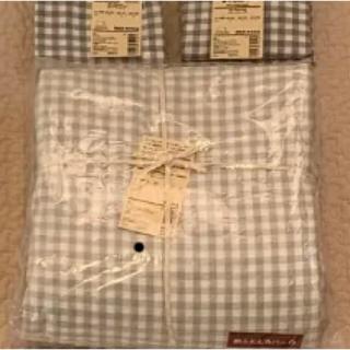 ムジルシリョウヒン(MUJI (無印良品))の無印 クイーンサイズ 掛け布団カバー &掛け布団セット(シーツ/カバー)