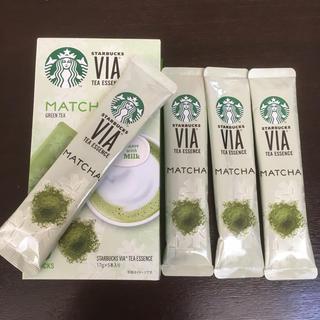 スターバックスコーヒー(Starbucks Coffee)のスタバ VIA 抹茶(茶)