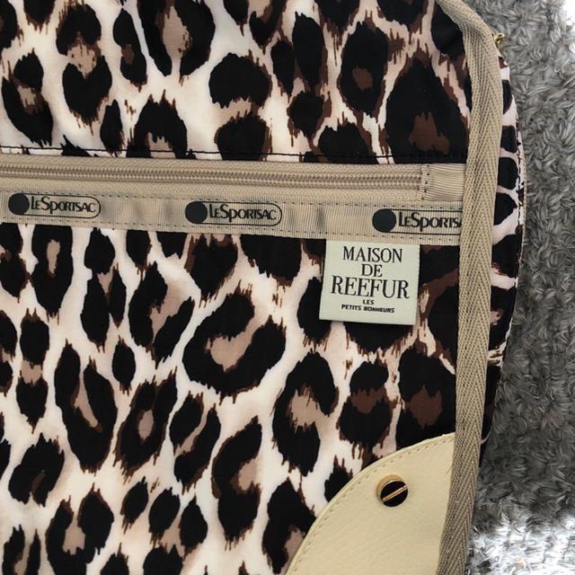 Maison de Reefur(メゾンドリーファー)のLESPORTSAC コラボ レディースのファッション小物(ポーチ)の商品写真