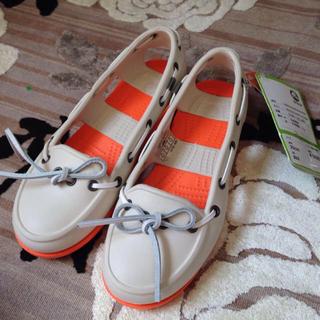 クロックス(crocs)のクロックスサンダル(ローファー/革靴)