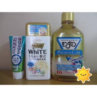 アースセイヤク(アース製薬)の入浴剤+モンダミン+クリアクリーン3点セット(入浴剤/バスソルト)