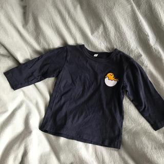 ムジルシリョウヒン(MUJI (無印良品))の無印 ネイビーロンT ぐでたま(Tシャツ/カットソー)