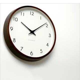 ムジルシリョウヒン(MUJI (無印良品))のレムノス 時計 北欧(掛時計/柱時計)