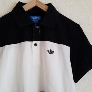 アディダス(adidas)のadidas originals トレフォイル刺繍 ブロッキング ポロシャツ(ポロシャツ)