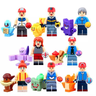 ポケモン(ポケモン)のポケモン16体セット レゴ互換 ミニフィグ  ポケットモンスター(プラモデル)