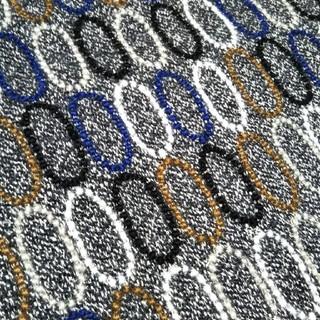ミナペルホネン(mina perhonen)のミナペルホネン tarte チャコール ファブリック 生地幅半分×50cm(ファブリック)