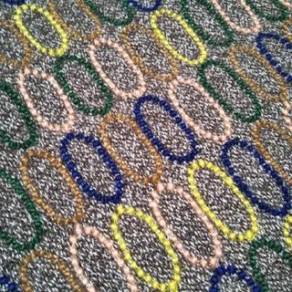 ミナペルホネン(mina perhonen)のミナペルホネン tarte ブラウン ファブリック 生地幅半分×50cm(ファブリック)