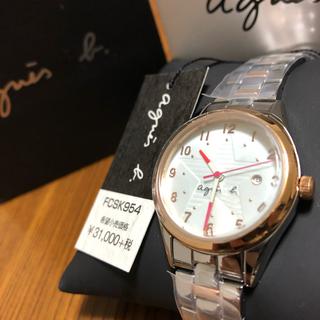 アニエスベー(agnes b.)の【新品・未使用】アニエスベー レディース 腕時計(腕時計)