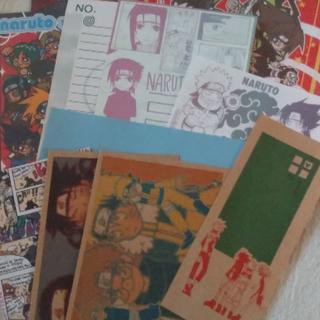 NARUTO同人便箋 ハガキまとめて(その他)