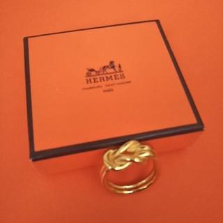 エルメス(Hermes)の⭐️なまいきシャルロ様専用 エルメス アタメ スカーフリング チャーム 指輪(リング(指輪))