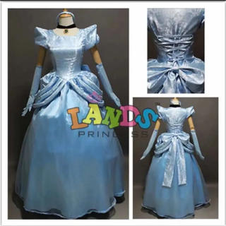 ディズニー(Disney)のシンデレラ 本格ドレス(衣装一式)