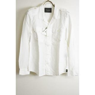 ドレストリップ(Drestrip)の新品 ドレストリップ リネンミリタリーオープンネックシャツ  1(シャツ)