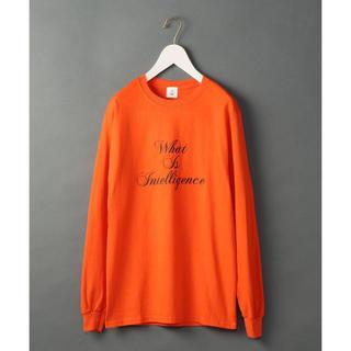 ビューティアンドユースユナイテッドアローズ(BEAUTY&YOUTH UNITED ARROWS)のroku ロゴTシャツ(Tシャツ(長袖/七分))