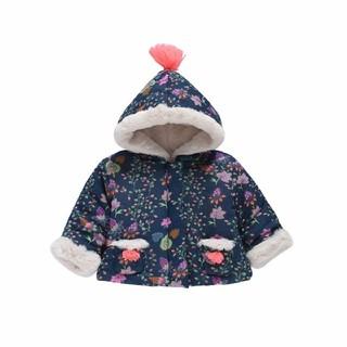 キャラメルベビー&チャイルド(Caramel baby&child )のマロン様専用●新品タグ付き●louise misha フード付きジャケット 90(ジャケット/上着)