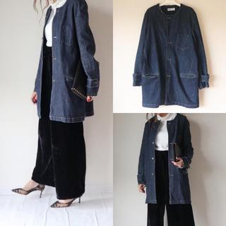 アケリコ(AKERICO)のロング デニムジャケット(Gジャン/デニムジャケット)