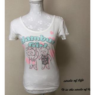 エイチビージー(HbG)のHbG クマさんTシャツ(Tシャツ(半袖/袖なし))
