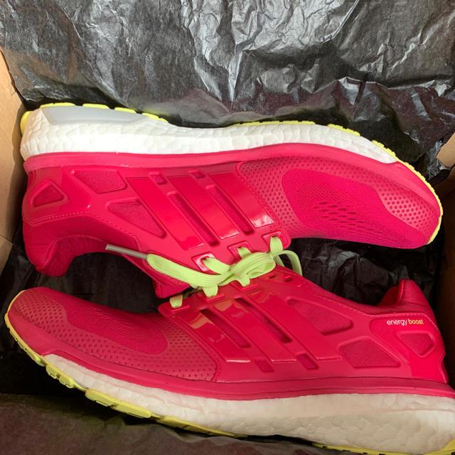 adidas(アディダス)のadidas energy boost 2 ESM W 25.5cm レディースの靴/シューズ(スニーカー)の商品写真