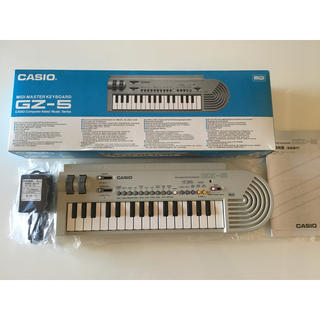 カシオ(CASIO)の*美品* CASIO 【MIDI MASTER KEYBOARD GZ-5】(MIDIコントローラー)