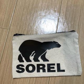 ソレル(SOREL)の新品未使用✴︎SOREL ポーチ(ポーチ)