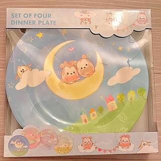 ディズニー(Disney)のディズニー♡メラミン食器 4枚セット(プレート/茶碗)