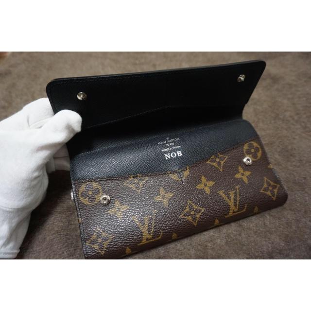 LOUIS VUITTON(ルイヴィトン)のLOUISVUITTON 三つ折り長財布 モノグラムマカサー メンズ メンズのファッション小物(折り財布)の商品写真