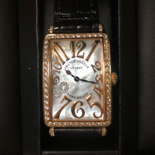 フランクミュラー(FRANCK MULLER)の激レア 美品 フランクミュラー ロングアイランド 腕時計(腕時計)