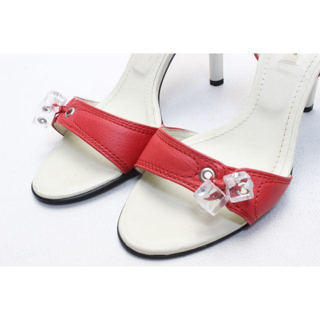 VII XII XXX(セヴントゥエルヴサーティ)のVII XII XXX 本革キューブチャームパンダル(35半) レディースの靴/シューズ(サンダル)の商品写真