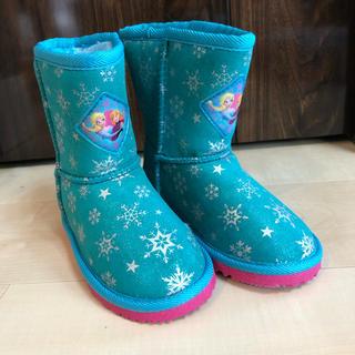 ディズニー(Disney)のアナ雪 ムートンブーツ 16cm(ブーツ)