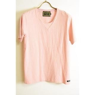 ドレストリップ(Drestrip)の新品 ドレストリップ レイヤードVネックロゴワッペンTシャツ  1(Tシャツ/カットソー(半袖/袖なし))