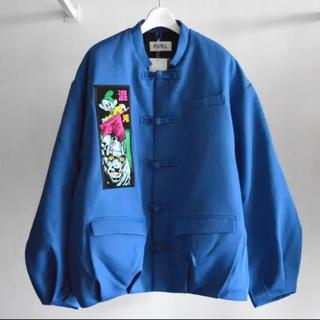 コムデギャルソン(COMME des GARCONS)のKIDILL 18aw Kung- Fu Jacket Blue 46(ブルゾン)