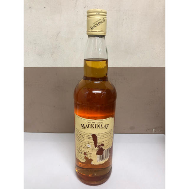 【古酒】オリジナル マッキンレー 5年 食品/飲料/酒の酒(ウイスキー)の商品写真