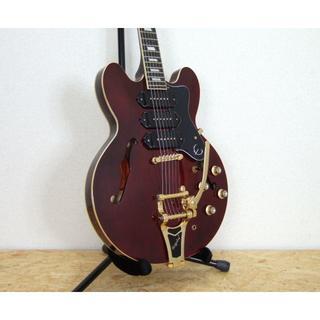 エピフォン(Epiphone)のEpiphone Riviera Custom P93 Wine Red(エレキギター)