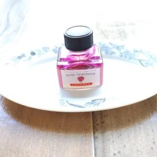 エルバン(Herbin)のJ.HERBIN トラディショナルインク ROSE TENDRESSE 30ml(ペン/マーカー)