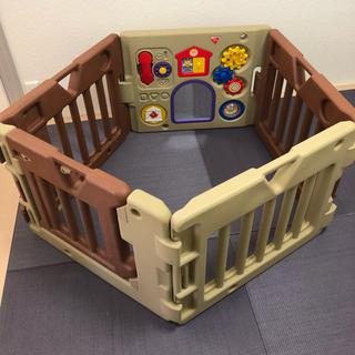ニホンイクジ(日本育児)のベビーサークル 送料無料(ベビーフェンス/ゲート)