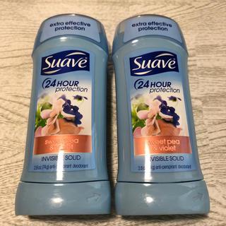 スアーヴ(Suave)のSuave ♡  固形デオドラント 2個セット(制汗/デオドラント剤)