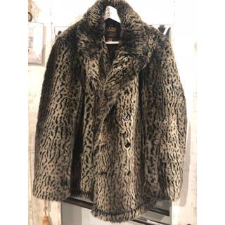 シュプリーム(Supreme)の6 d法様専用/ Schott Faux Fur Peacoat(ピーコート)
