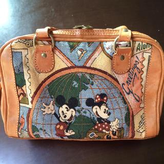 ディズニー(Disney)のディズニー ミッキー&ミニーちゃんボストンバッグ(ボストンバッグ)
